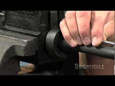 Brownells - AR15: Installing the Delta Ring Assembly and the Barrel Into the Upper Receiver