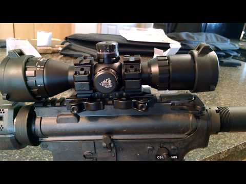"""AR-15 SCOPE REVIEW - UTG 3-9X32 1"""" BugBuster Scope RGB"""