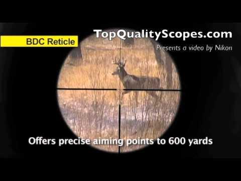 Nikon Prostaff Rifle Scope 4-12X40