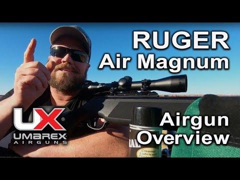 Ruger Air Magnum Pellet Rifle Air Gun : Umarex Airguns Overview