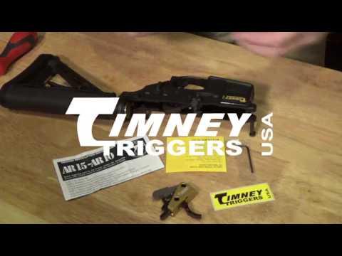 Timney Competition AR-15 Trigger Installation
