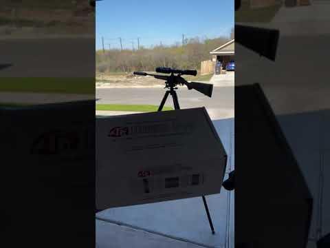 Atn ir850 pro mounted on scope