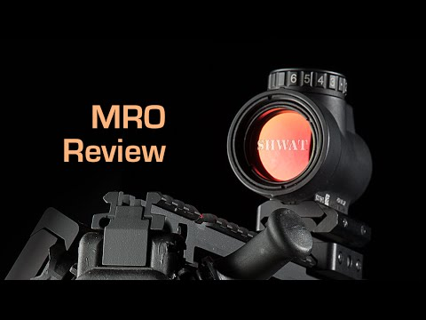 Trijicon MRO Video Review 2016 - The American Made Rugged Red Dot Sight
