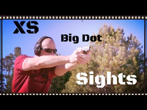 XS Big Dot Tritium Handgun Sights Review (HD)