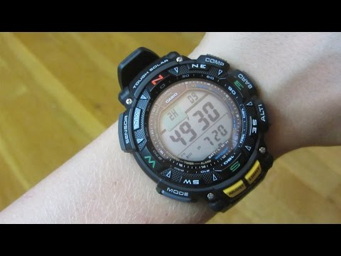 Casio Pathfinder PAG 240 Review