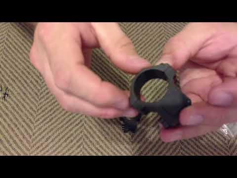 Unboxing .22 rimfire 3/8 medium profile scope mounts