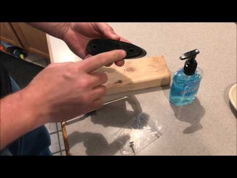 OldGuyDIY Remington Supercell Recoil Pad Install Super Cell 870 740 7600 1100 1187