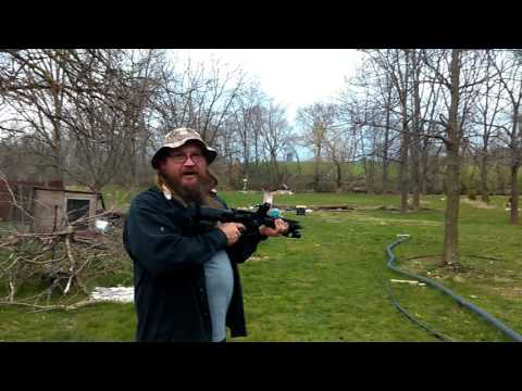 Bushnell First Strike reflex Red Dot on my blackout pistol
