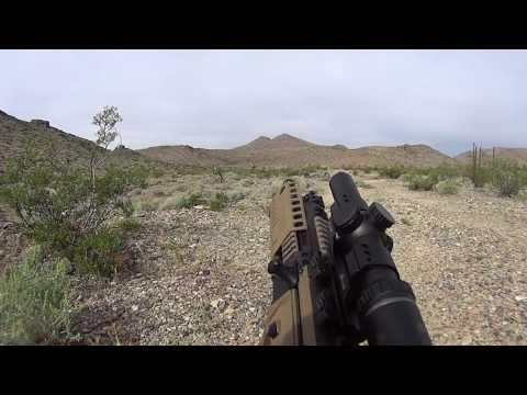 Burris MTAC 1-4x Ballistic AR Reticle BDC test