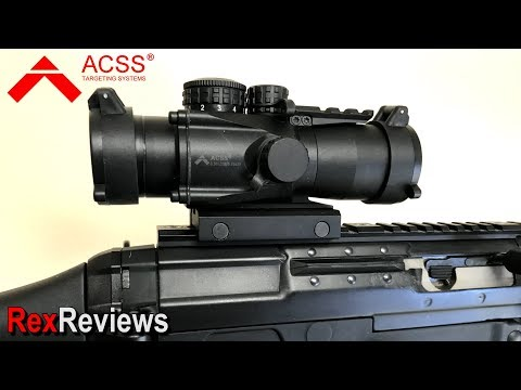 Primary Arms 3X Compact Gen II with ACSS CQB ~ Rex Reviews QUICK LOOK