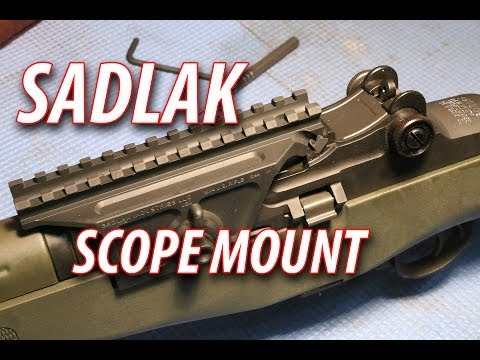 How to Install the SADLAK Scope Mount M1A or M14 Springfield