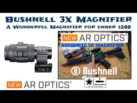 Bushnell 3X Magnifier - One the best options under $200!