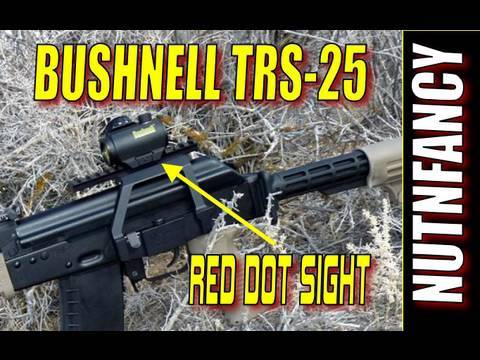 Bushnell TRS-25: High Performance Micro Red Dot