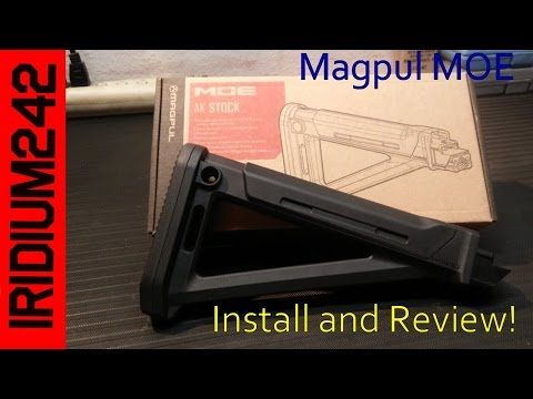 Install and Review of the Magpul MOE Stock