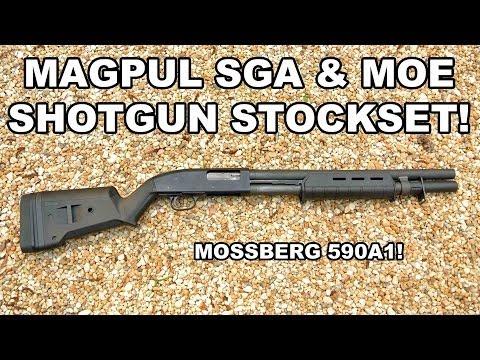Magpul SGA & MOE Stockset! Upgrade for the 590A1
