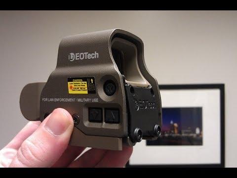 Project AR-15 Part 4 Eotech XPS-3 Tan Holographic Weapon Sight
