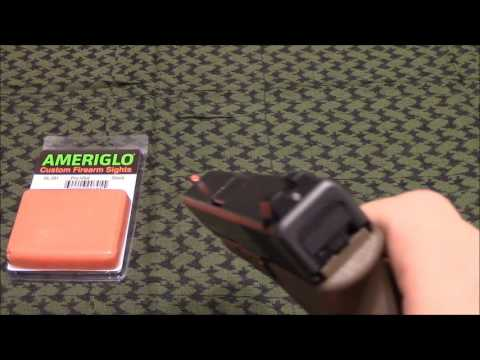 New Glock Sights- Ameriglo Pro I Dots