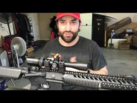 AR-15 Scope Mounting