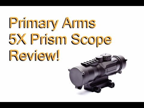 Primary Arms 5x Prism Scope Review!