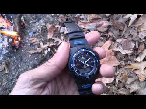Casio thermo compass watch review