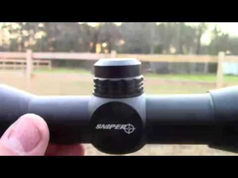 crossbow scope.....sniper compact scope 4x32 rangefinder review