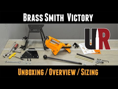 Lyman Victory Reloading Press Unboxing, Setup, and Sizing 6.5 Creedmoor