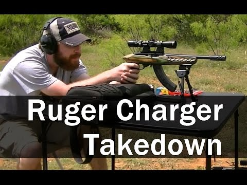 Ruger Charger Takedown - 25 shots @ 100 yards