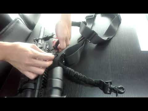 How to install the strap to AR15 by BOOSTEADY
