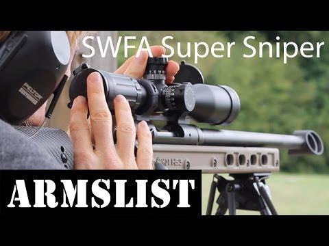 SWFA Super Sniper 10x42 Scope