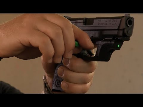 Crimson Trace Training Tip - Sighting in your Laser: Guns & Gear S7 Pro Tip
