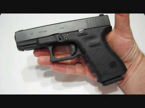 Glock 19: Trijicon Night Sights