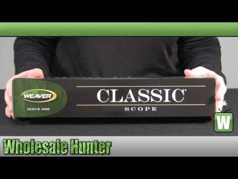 Weaver Classic K Series 6x38mm Dual-X Reticle Rifle Scope mfg# 849418
