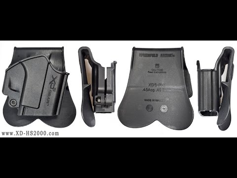 XDS Gear Paddle Holster Review