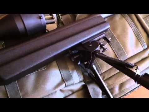 """Blackhawk! Sportster Pivot Bipod 9-13"""" Review"""