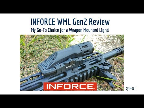 InForce WML Gen2 Review - Incredible Weapon Mounted Light