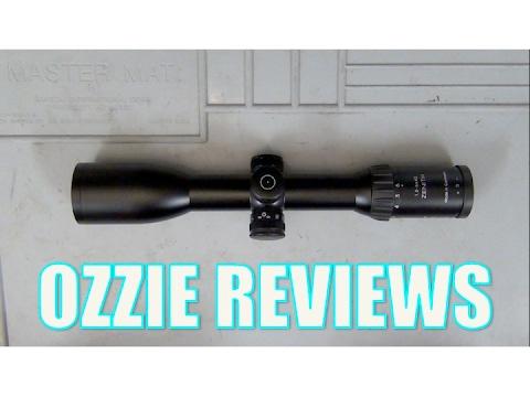 """Schmidt & Bender """"Zenith"""" 1.5-6x42mm Rifle Scope"""