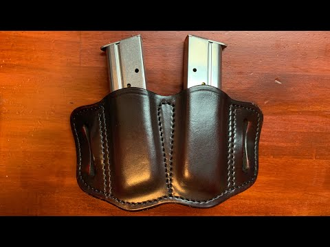 Full review of the 1791 Gunleather 2.1 Single stack magazine holster /mag holder OWB
