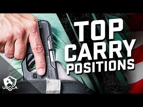 Concealed Carry Positions: Where to Carry and Why