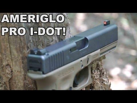AmeriGlo Pro I-Dot! Big Dot Night Sights with a Twist