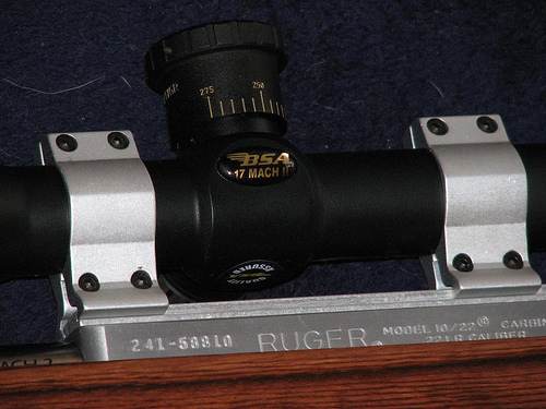 best scope for 17 hmr, How to find the best rifle scope for 17 HMR? The .17 HMR is a hard-hitting round for your rifle, which also needs a good corresponding riflescope. The best .17 HMR scopes must note the bullet coming out of your rifle is much faster than a .22lr long rifle round and must have a bullet drop compensator to track the rifle bullet's trajectory.