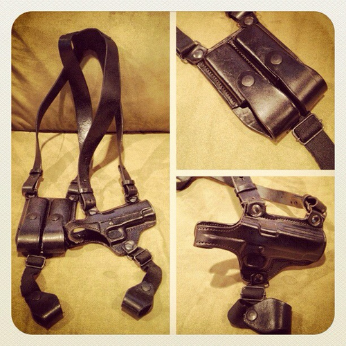 best 1911 shoulder holster, best shoulder holster for 1911