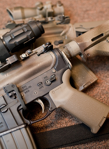 acog vs eotech with magnifier