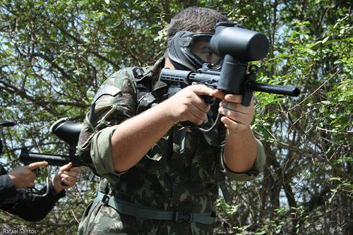 best woodsball gun, best woodsball paintball gun