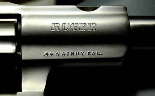red dot sight for .44 magnum revolver