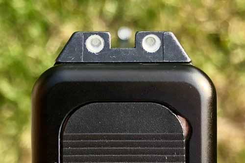 3 dot sights for 1911, 3 dot sights